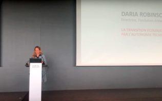 Daria Robinson au Forum des 100